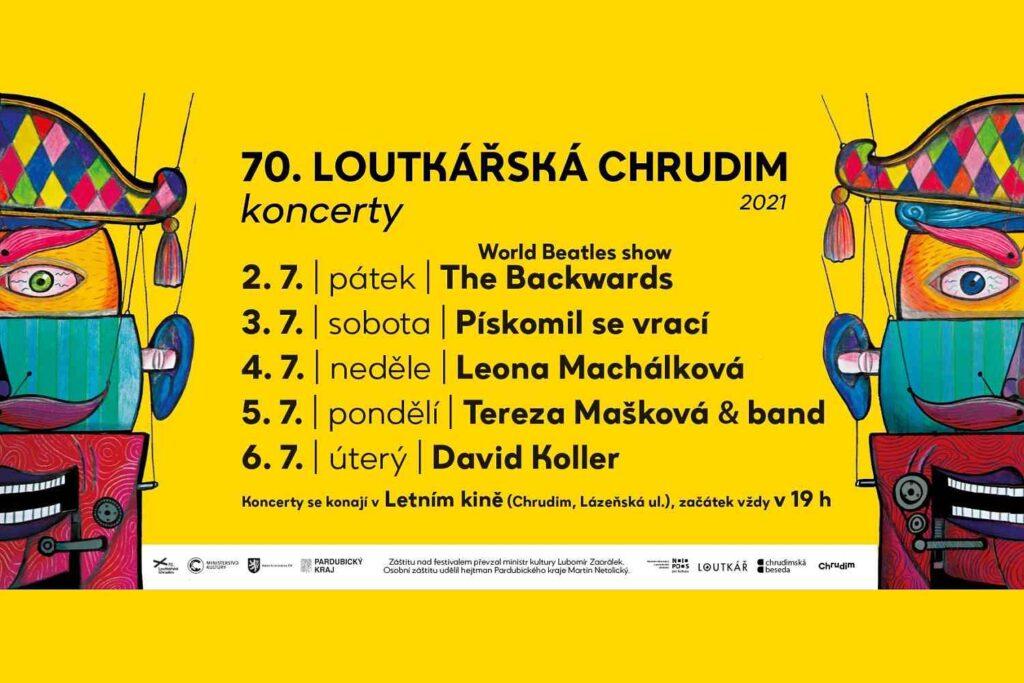 Koncerty 70. loutkářské Chrudimi